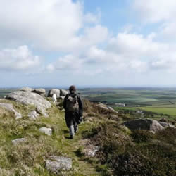Trencrom Hill Penwith Cornwall - home of Celtic Inspiration
